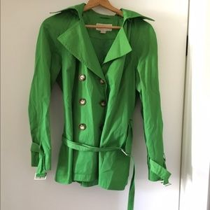 Michael Kors Double breasted short trench coat